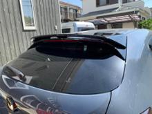 MAZDA3 ファストバックハイブリッド宇田汽車國際有限公司 Mazda 3 5D MZ Style Spoiler リアルーフスポイラーの単体画像