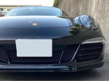 911 (クーペ)zunsport Porsche 991.1 GTS - Full Grill Set (Without Parking Sensors) - Black Finishの単体画像