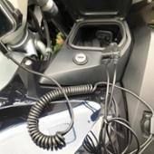 メーカー不明 BMW車AUXアダプター3.5mmジャックUSB Yコイルケーブル