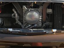 シーマ日産(純正) ミリ波レーダーグリルの全体画像