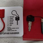 YES CRAFTS YES-KEY CAP AND KARABINER