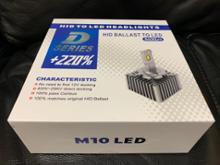 V60OPPLIGHT M10 LED HEADLIGHTSの単体画像