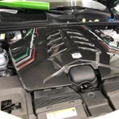 ランボルギーニ(純正) カーボンエンジンカバー