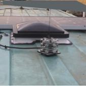 ヤフオク出品者 takefive8-1103 ハンドメイド オリジナル 無指向型地デジアンテナ へんてな