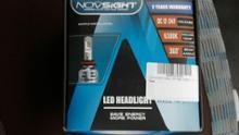 ZNovsight LED ヘッドライト 60w10000lm6500kの単体画像