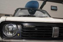 サニートラック自作 サニトラ フロントグリル&エンブレムの全体画像