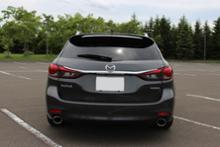 MAZDA6 ワゴンAutoExe Premium Tail Mufflerの単体画像