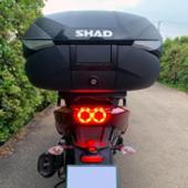 SHAD SH58X リアボックス 58L カーボン柄