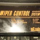 ミツバ WIPER CONTROL SYSTEM