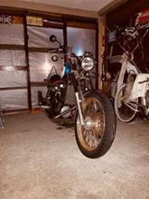 ウイングGL400カスタムオリジナル マフラー クロスの全体画像