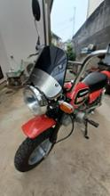 モンキー  Z50J-Iメーカー不明 ヘッドライト&風防の単体画像