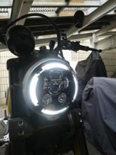 スクランブラーノーブランド LEDヘッドライトの単体画像