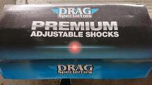 ロードグライドスペシャルDrag specialties premium adjustable shocksの単体画像