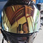 SHOEI SHOEI CWR-1 PINLOCK スモークミラー ゴールド