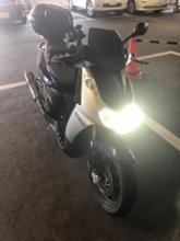 ランブラ250iREIZ TRADING LEDヘッドライトの単体画像