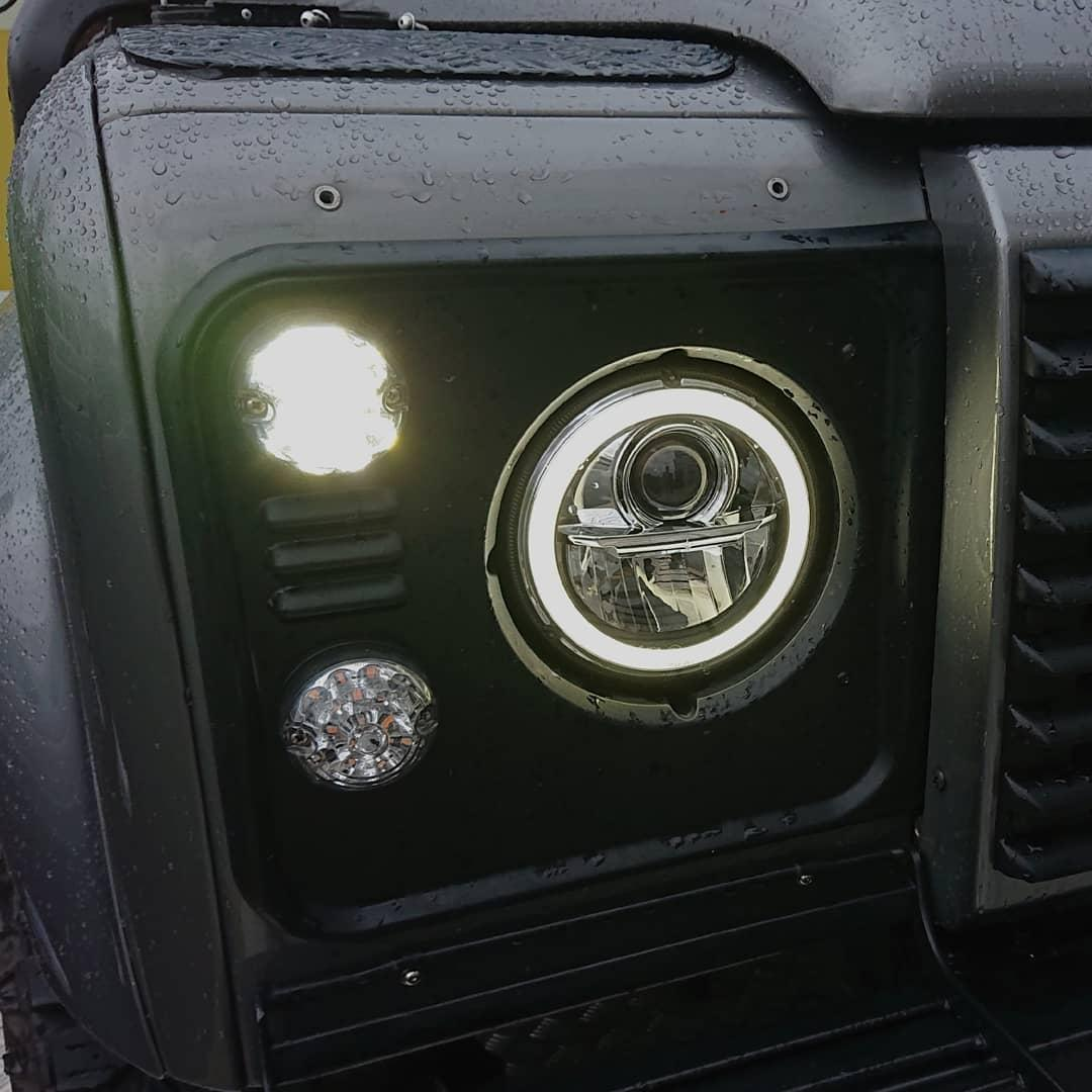 "WIPAC 7"" LED HEADLIGHTS"