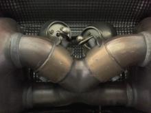 911 (クーペ)ポルシェ(純正) スポーツエグゾーストシステムの全体画像