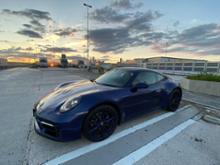 911 (クーペ)ポルシェ スポーツデザインPKGブラック塗装仕上げ(ハイグロス)の単体画像