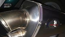 R1200RT LCモリヤス・アイアンワークス R-style R1200RT Real python Mufflerの全体画像
