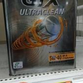 Castrol GTX  ULTRACLEAN  5W-40