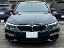 5シリーズ プラグインハイブリッドAoutbro ABSプラスチッククロームフロントフォグランプ 2018シルバーATB-BMW5038用フレームトリム装飾ストリップカバーBMW 5シリーズG30 2017点灯の単体画像