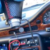 wish 5 Speed Leather Red Stitch Car...