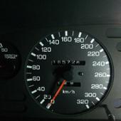 NISMO 320km/hメーター