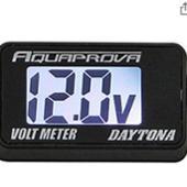 DAYTONA(バイク) 電圧計
