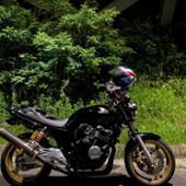 motogear.jp cb400sf nc39スリップオンエキゾースト カーボンマフラー