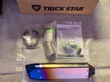 Ninja H2 SX SE +TRICK STAR IKAZUCHI(政府認証スリップオン)の全体画像
