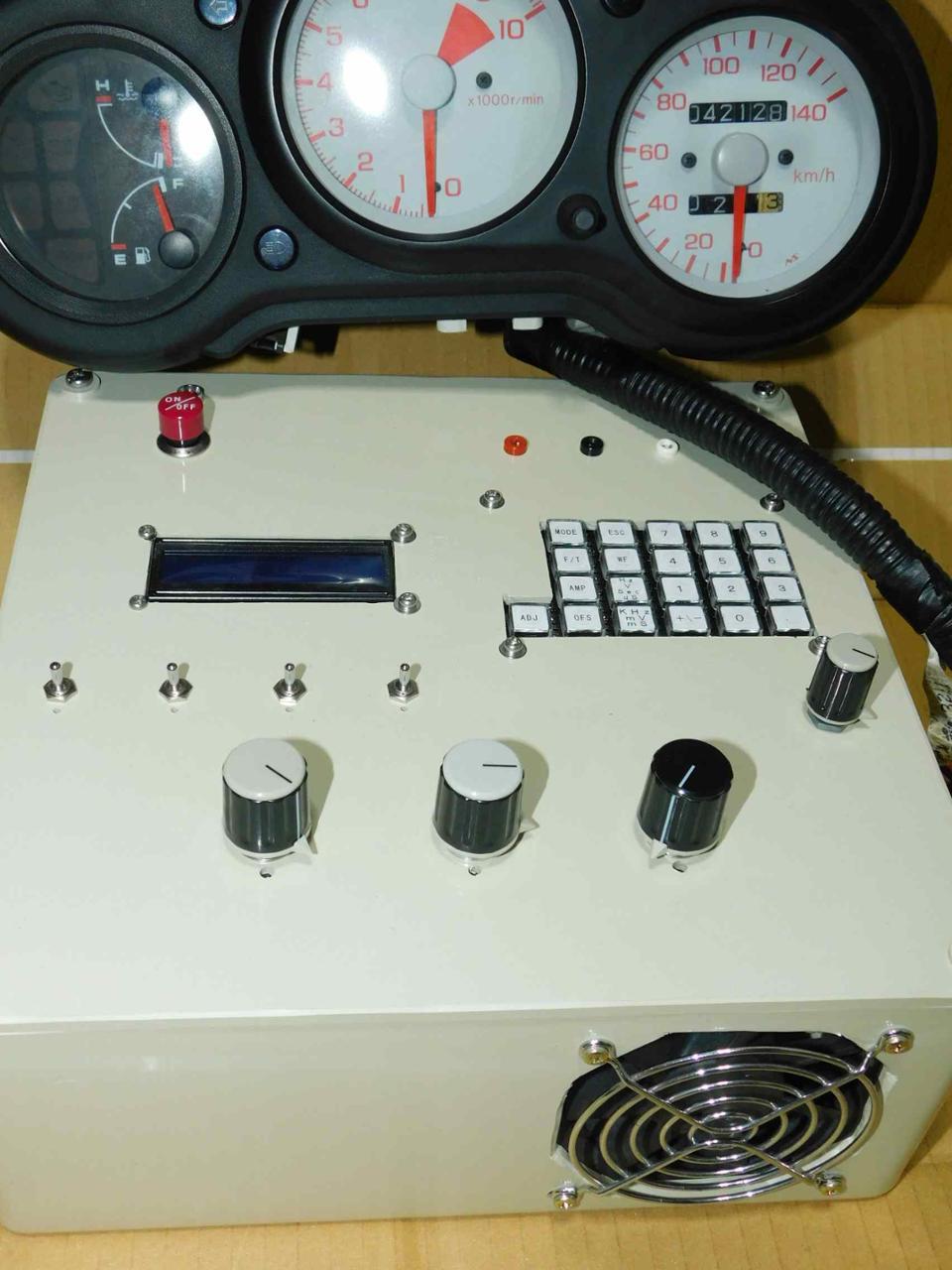 自作 BEAT専用メーター試験器