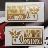 Neo Zeon Security Sticker