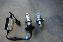 GSX250RSUPAREE H4 LEDヘッドライト HI/LO切替 6500Kの単体画像