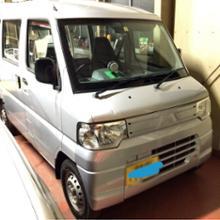 ミニキャブ三菱自動車(純正) 後期バンパーの単体画像