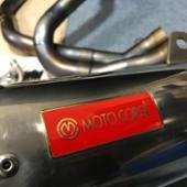 MOTO CORSE オールチタンフルエキゾースト