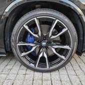タイヤ・ホイール BMW 純正 G07 X7 M ライト アロイ ホイール Vスポーク スタイリング755M バイ カラー ジェット ブラック