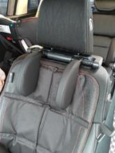solorbot 【進化版】車用首枕 ヘッドレスト 回転調節 運転旅行首椎支持クッション 頸椎保護パッド工具不要簡単装着収納しやすい 快適柔軟 子供大人用ヘッドレストマット 黒い