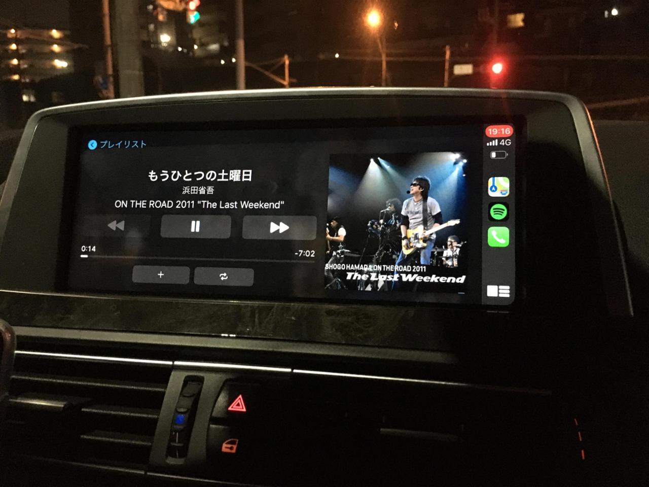 BMW(純正) Apple CarPlay 右ハンドル仕様