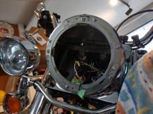 FLSTN Nostalgiaハーレーダビッドソン(純正) 67700189 7インチ デーメーカーリフレクター LEDヘッドライトの全体画像