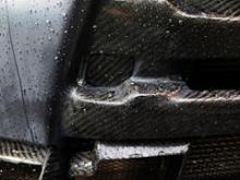 ランサーエボリューションX自作 フロントバンパー・フロントリップの全体画像