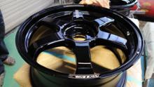 オデッセイハイブリッドRAYS VOLK RACING TE37 Ultra 改の全体画像