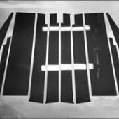 不明 【リアルカーボン/綾織りブラック】ピラーガーニッシュ