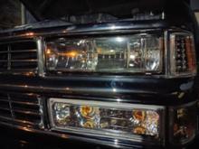 C-1500不明 ヘッドライト、パークランプ、コーナーマーカーセットの単体画像