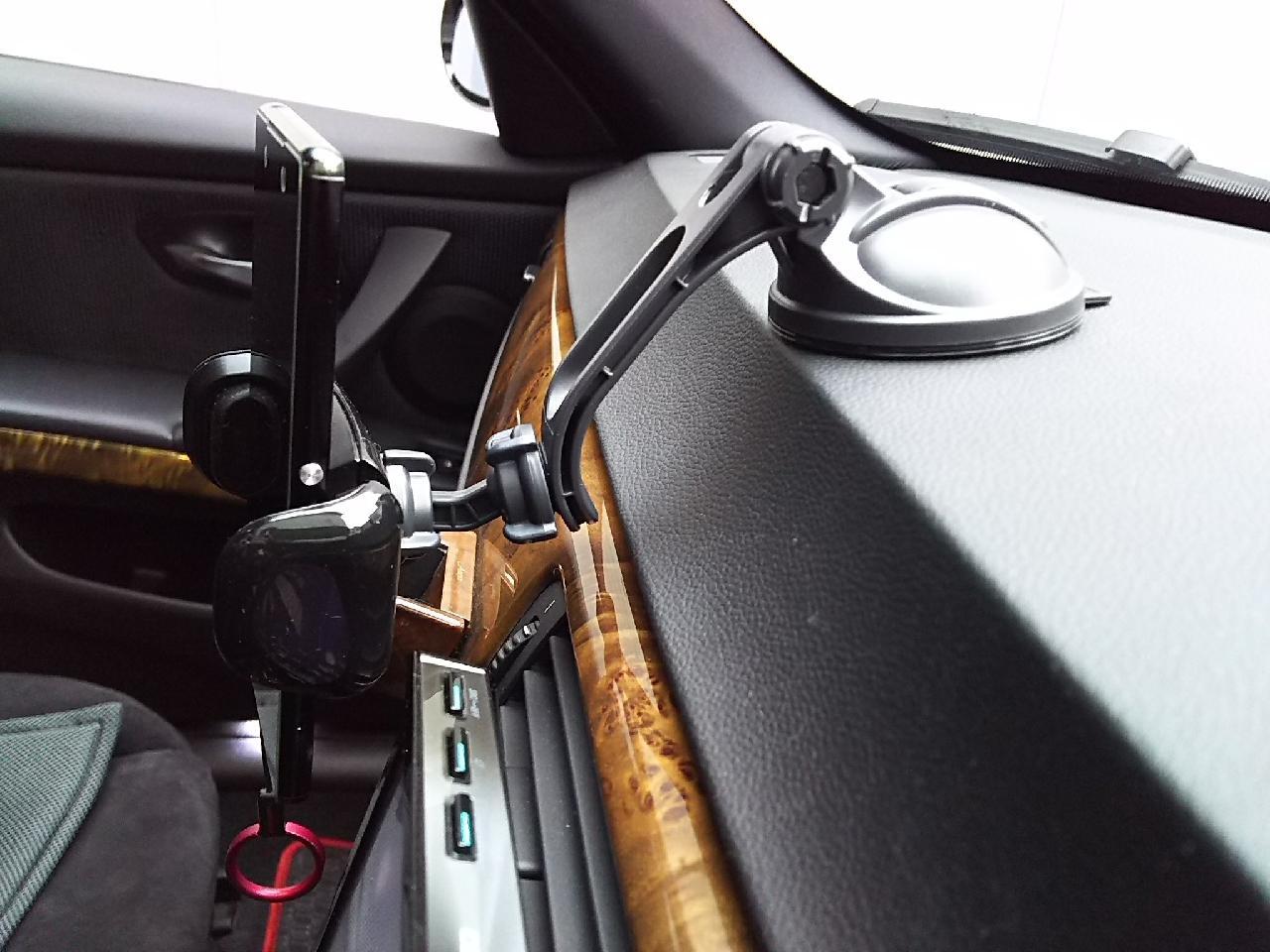 CAR MATE / カーメイト スマホルダーロングアーム吸盤クイック SA27