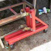 自作 移動式門型クレーン