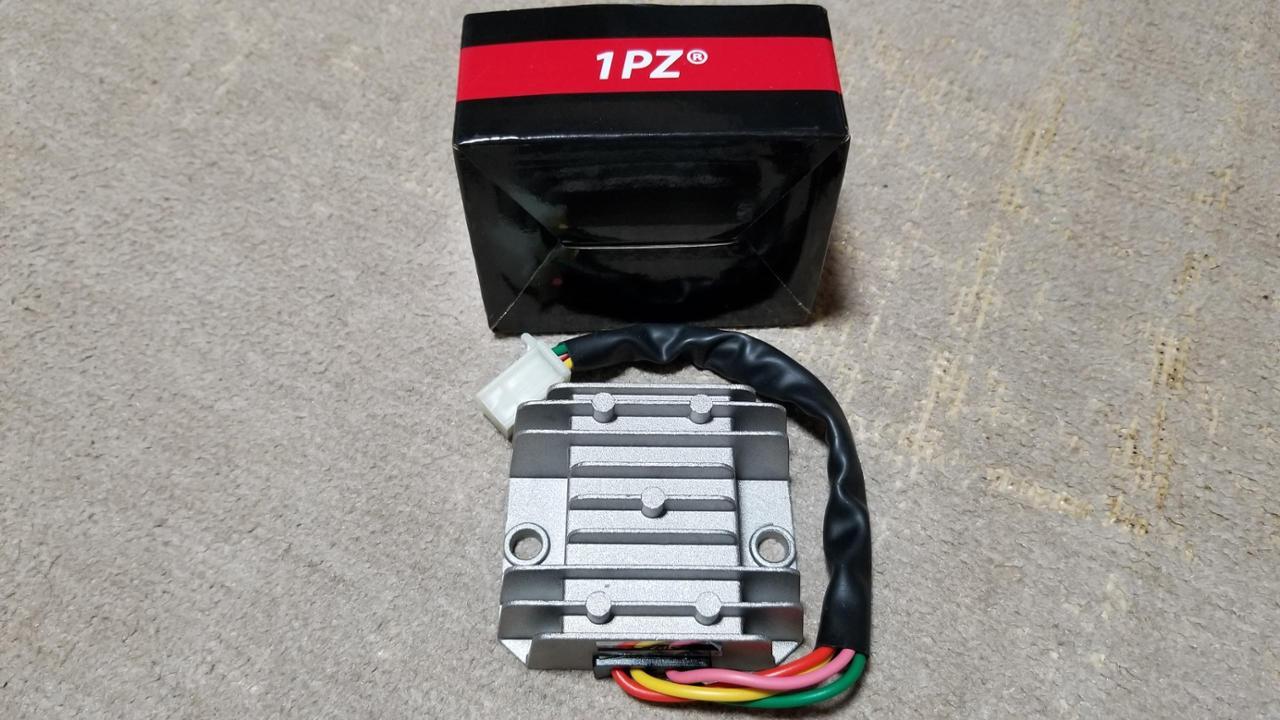1PZ 全波整流レギュレーター