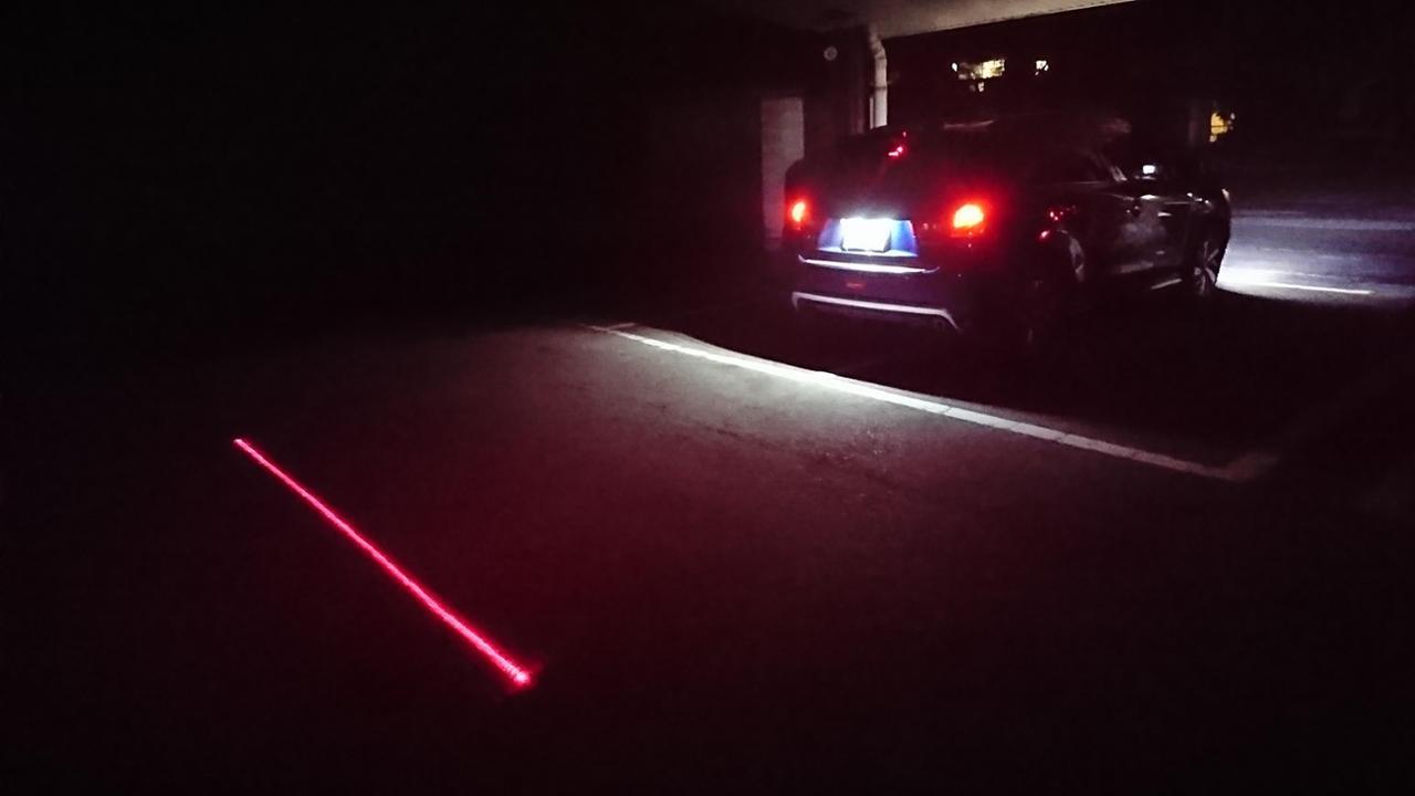 アミリアスタイル LEDレーザーフォグライト