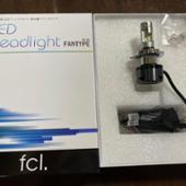 fcl. fcl. ファン付 LED ヘッドライト バイク用( H4 H7 )