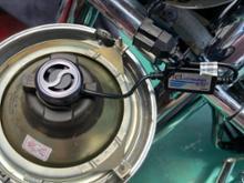 ドラッグスタークラシック1100fcl. fcl. ファン付 LED ヘッドライト バイク用( H4 H7 )の全体画像