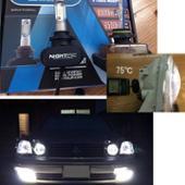 NIGHTEYE LEDバルブ HB3/HB4 25W 4000lm 6500k